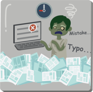 Zombie A: I am tired of data input