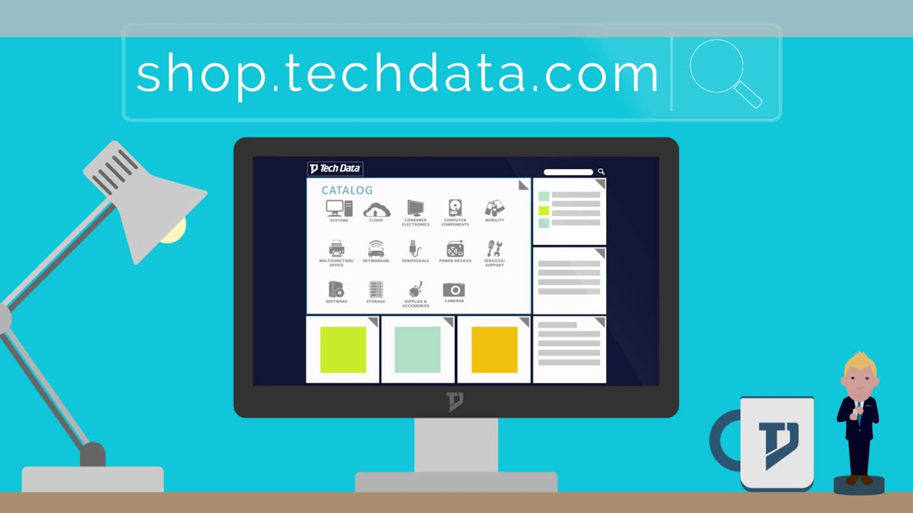 Shop with Tech Data
