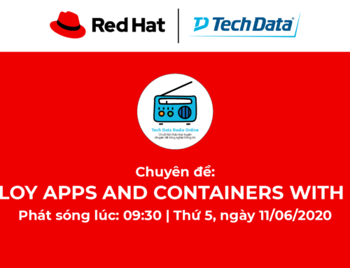 """Hội thảo trực tuyến chuyên đề:""""Learn How To Develop Apps And Containers With Red Hat Openshift"""""""